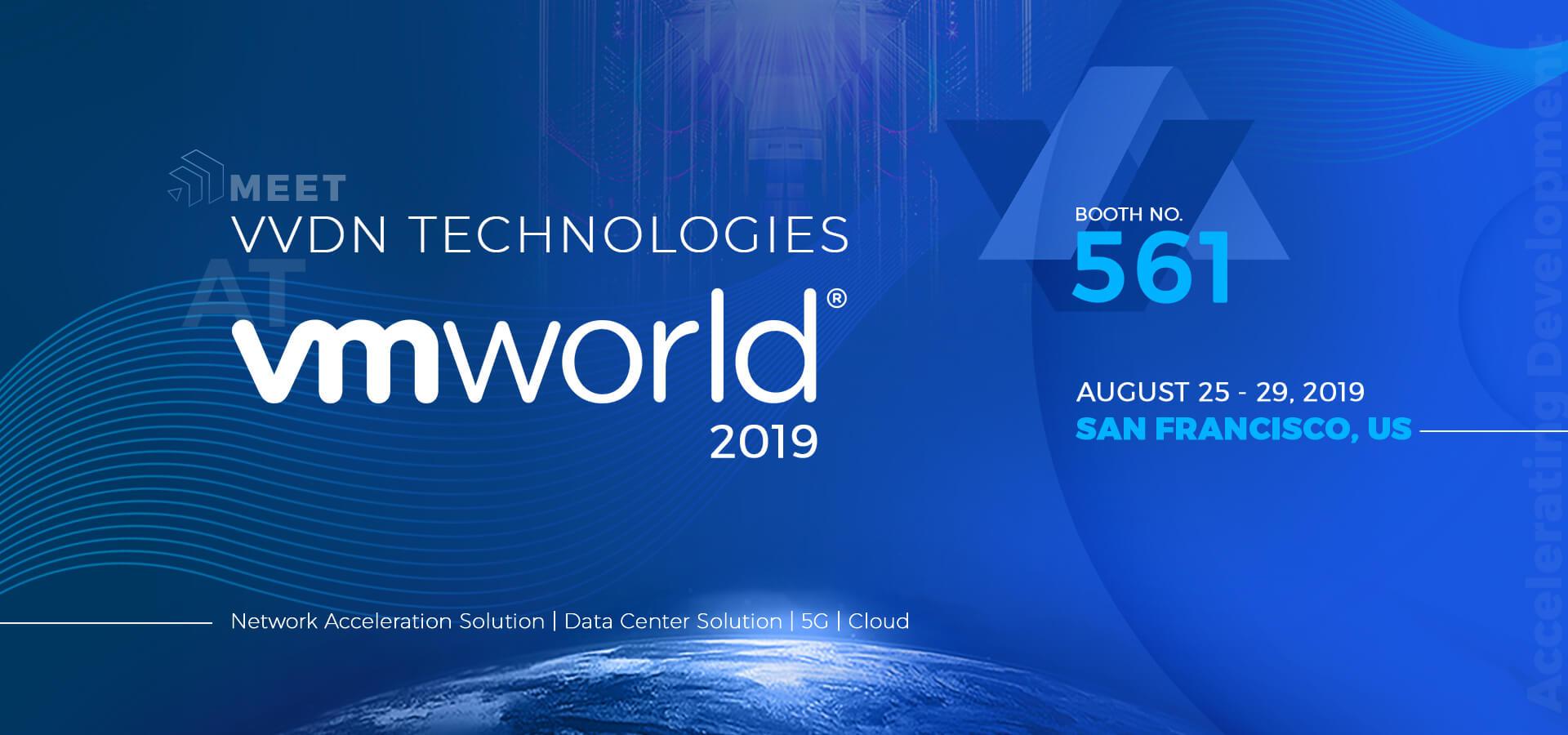 Visit VVDN at VMworld 2019, US