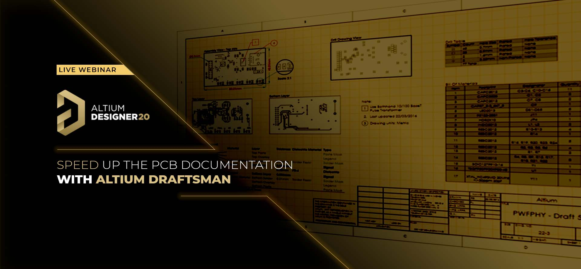 Speedup the PCB Documentation with Altium Draftsman