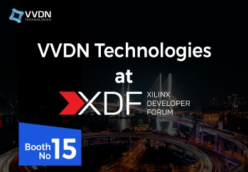 Visit VVDN Technologies at Xilinx Developer Forum(XDF), 2019