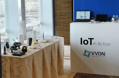 VVDN attends Microsoft's IoT in action conference in Mumbai, India