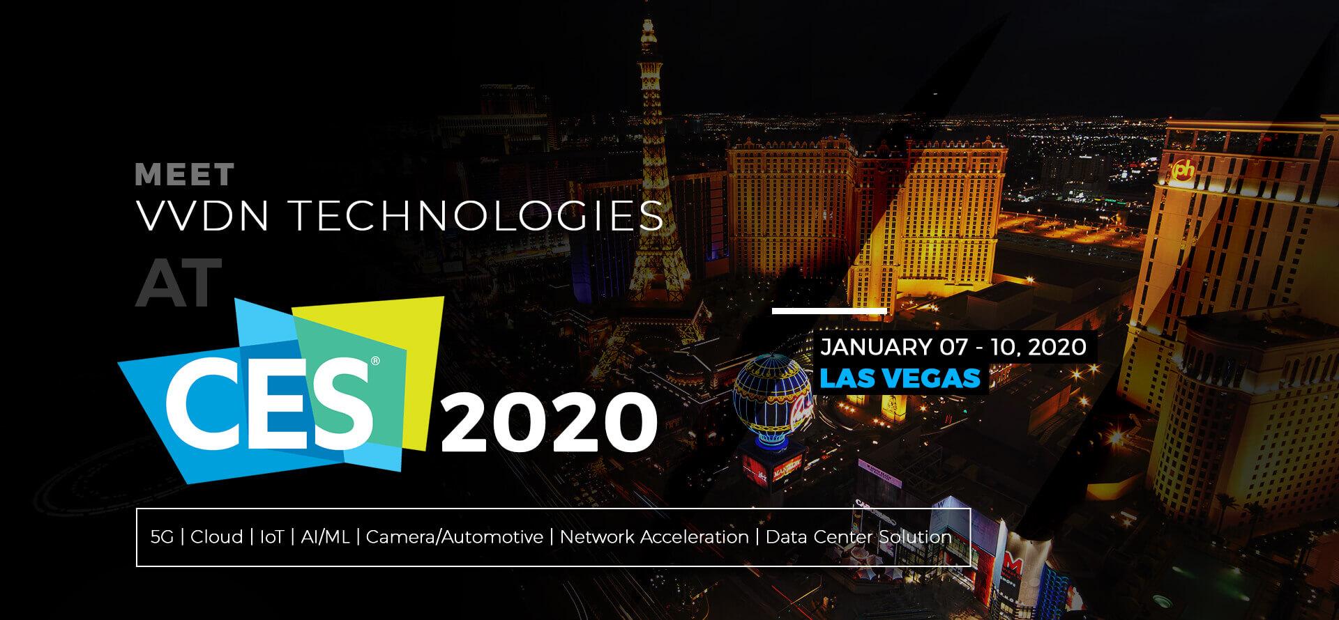 Meet VVDN TECHNOLOGIES AT CES 2020
